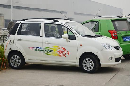 电动汽车市场迅速占据一席之地.此次唐骏王子交流电机车型及高清图片