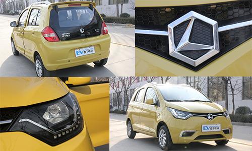 高亮度led行车大灯,整车造型动感,时尚,视觉冲击力强烈,雷丁d70的外观